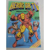 Fac-símile Heroís Da Tv Nº 2 (2ª Série) - Ed. Abril