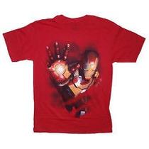 Camisa Homem De Ferro- Grande - Importada - Nova
