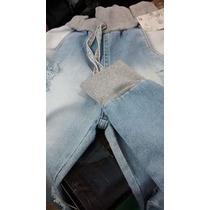 Calça Jeans Com Moleton +frete Gratis