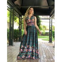 a4dd58bca Vestido Longo 3 Formas De Usar Balada Verao Floral à venda em Roncon ...