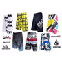 Kit 5 Bermudas Quiksilver Hurley Billabong Oakley Original