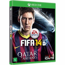 Super Game Fifa14 Xbox One Original Novo Lacrado Leilão