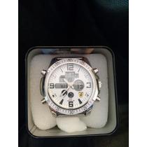 Relógio Masculino Jimin Prata - Resistente A Água - 30m