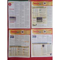 Revista Placar - Tabelão 1998 (abril A Julho/98) + Março/95
