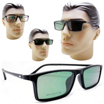 291752d18 Armação Oculos Clip On Sol E Grau 2 Em 1 Masculino Feminino à venda ...