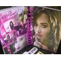Kit Demi Lovato Camisa Caderno Adesivos