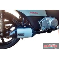 Escapamento Não Pro Tork V3 Honda Biz 100 98 99 A 2004