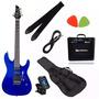Guitarra Tagima Memphis Mg-230 Kit Completo Regulada Oferta!