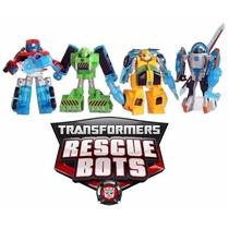 Bumblebee Transformers Rescue Bots Coleção Completa Kit Robô