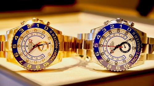 552daa235c4 Rolex Yacht-master 2 Misto Ou Todo Gold 18k+ Caixa E Docs