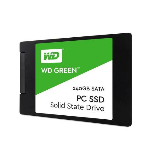 Hd Ssd 240gb Wd Green 540mb/s  7mm 2,5 Notebook Pc Sata 3