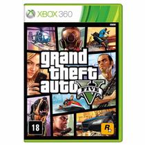 Jogo Grand Theft Auto V (gta5) Xbox 360 - Original