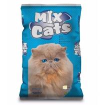 Ração Mix Cat Sabor Carne Gatos Adultos 25kg