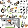 Adesivo De Parede - Futebol Meninos - Vasco Da Gama 155