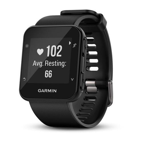 47aa3874133dc Monitor Cardiaco De Pulso C gps Garmin Forerunner 35 Preto