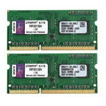Kit 8gb (2x4gb) Ddr3 1600mhz Kingston Kvr16s11s8 P/ Mac Mini