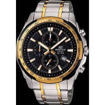 Relógio Casio Edifice Gold Ef566sg-1avdf