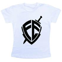 Camiseta Baby Look Feminina - Fé André Valadão