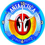 Relogio Cerveja Antarctica Mdf Decorativo