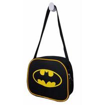 Bolsa Lancheira Térmica Infantil Escolar Barata Batman Geek