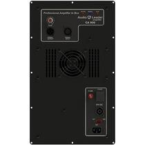 Amplificador In Box Áudio Leader Ca 800 800w Rms Caixa Som