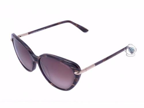 6c5578140 Óculos De Sol Tom Ford Willa Tf 293 50 F Marrom Mesclado