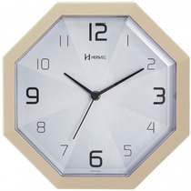 Relógio Parede Herweg 6662 032 Creme Analógico - Refinado