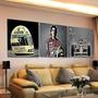Quadro Mosaico Decorativo Ayrton Senna, Fórmula1 180x60 Mito
