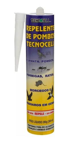 Repelente Espanta Pombos/morcegos/outro Não Mata Só Repele
