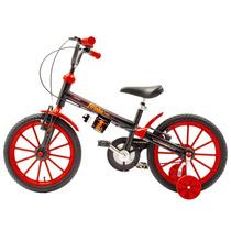 Bicicleta Fischer Ferinha Aro 16 Masc V-brake C/acessórios