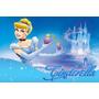 Painel Decorativo Festa Infantil Princesa Cinderella (mod4)