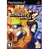 Patch Jogo Ps2 Naruto 3 Frete Grátis