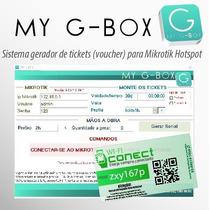 Ticket Wifi Pre-pago Sistema Para Gerar Tickets Wifi