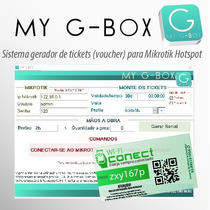 Wifi Pre-pago Sistema Para Gerar Tickets Pré-paogs