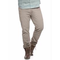 Calça Jeans Plus Size - Masculina ( Roupa Cor Bege ) Promoçã