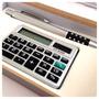 Estojo Luxo +caneta + Calculadora Imperdível Kit C/2 Estojos