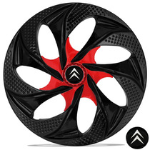 Calota Aro 14 Esport Citroen C3 2010 2011 2012 C4 Black Red