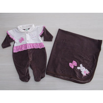 Saída Maternidade Rosa/marrom Coelhinha Smoby Lançamento