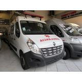 Renault Master Ambulância L2h2 Uti Completa