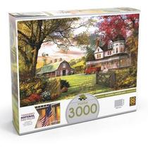 Quebra Cabeca Puzzle 3000 Peças Fazenda Americana - Grow
