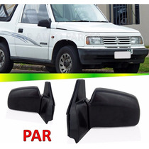 Par Retrovisor Manual Suzuki Vitara 90 91 92 93 94 95 96 97