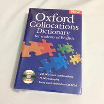 Dicionário Oxford Collocations Dictionary Lacrado Cd-rom