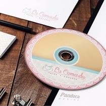 50 Dvds + Personalização Impressa