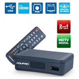 Conversor Digital Dtv 4000 Aquario Para Tv