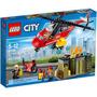 Lego City 60108 Fire Respons Unit Helicoptero Dos Bombeiros