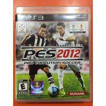 Jogo Pes Playstation 3, Original Mídia Física Pes 2012
