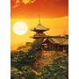 Quebra Cabeça Puzzle Importado 1000 Peças Kyoto, Japão