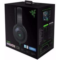 Headset Razer Kraken Usb 7.1 Surround Sound Pc / Ps4 / Mac