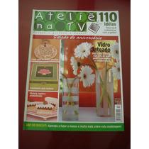 Revista Ateliê Na Tv Vidro Jateado Colar Patchwork N°12