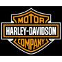 Harley Moto - Placas Decorativas Frete Grátis Oficina Retrô
